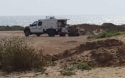 """מטען חבלה אותר בגאסר א זרקא במסגרת פעילות יזומה לתפיסת אמל""""ח לא חוקי"""