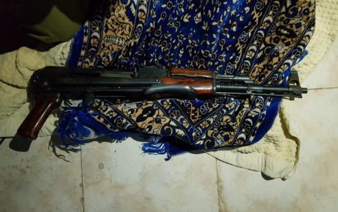 הלילה נעצרו שבעה מבוקשים פעילי טרור ונתפס נשק ותחמושת