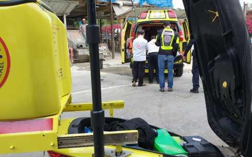 צעיר בן 23 נדקר סמוך לתחנת דלק ראש פינה – מצבו בינוני