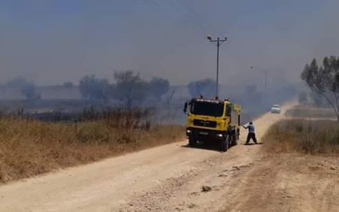 אחרי שישראל אישרה את ההסכם: 14 שריפות פרצו בעוטף עזה – הושמד מטען שהיה מחובר לזר בלונים הבוקר