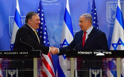 """מייק פומפאו: """"לא רוצים מלחמה עם איראן, ממשיכים במאמצים הדיפלומטיים"""""""