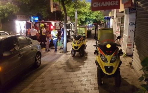 חיפה: גבר כבן 25 נפצע בינוני מדקירות