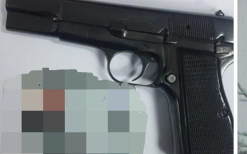 """נעצר הלילה תושב ג""""אסר א זרקא בחשד לאחזקת נשק לא חוקי בכפר"""