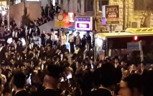 מחאות הקיצונים: 11 עצורים בפגנות בירושלים ובבית שמש – תיעוד