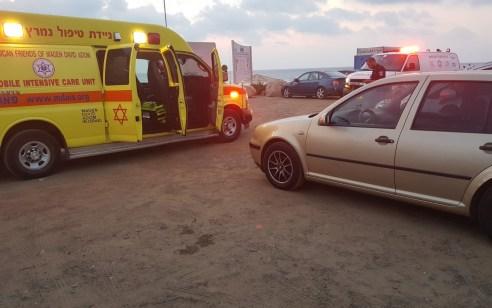 גבר בן 48 טבע למוות בחוף הסטודנטים בחיפה