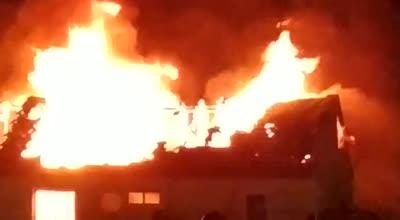 בית דו משפחתי עלה באש בכוכב יעקב – אין נפגעים