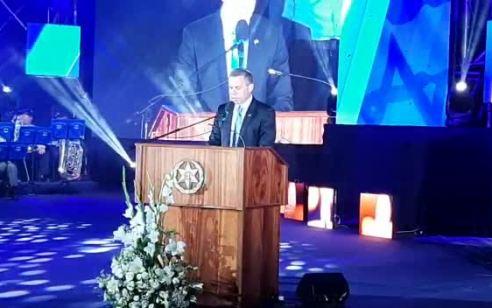 השר ארדן בטקס ההתייחדות עם זכרם של חללי משטרת ישראל: אירוע האונס המחריד חייב להיחקר גם כאירוע לאומני