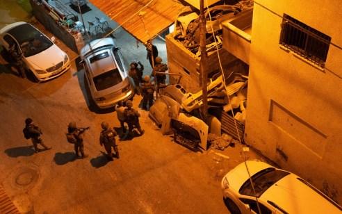 מבצע צבאי בקלקילה: נעצרו חשודים בניהול תשתית גניבת כלי רכב ובביצוע שודים אלימים