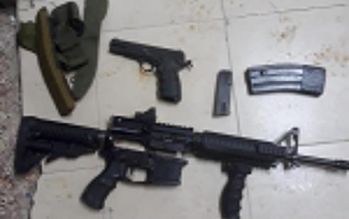 הלילה נעצרו 12 מבוקשים פעילי טרור ונתפסו נשקים