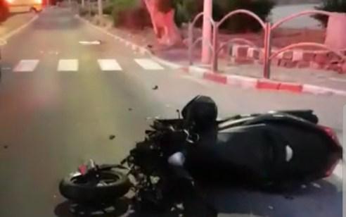 רוכב אופנוע בן 54 נהרג לאחר שהחליק בכניסה לטבריה