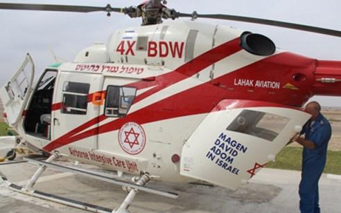 פועל נפצע קשה ופונה במסוק לאחר שנפצע במהלך עבודה במפעל בעמק יזרעאל