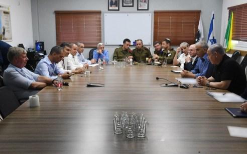 פגישת ראש הממשלה באוגדת עזה התקיימה ללא השתתפותם של ראשי המועצות של עוטף עזה