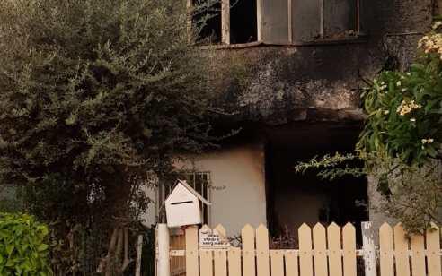 4 דיירים חולצו במצב קל בשריפת דירה ברמלה