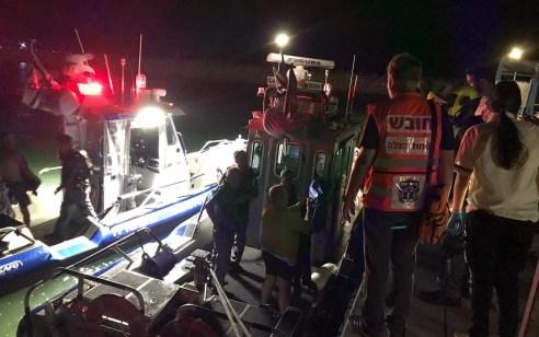 סירה התהפכה במרינה בהרצליה – 4 נוסעים חולצו ללא פגע