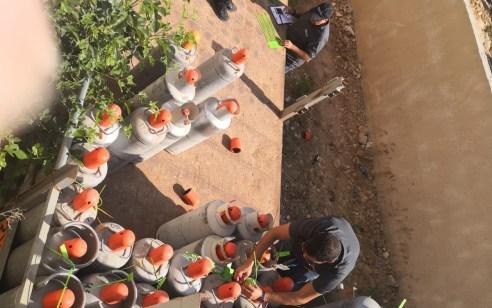 תושב אום אל פאחם עוכב לחקירה בחשד לסחר לא חוקי בגז תוך סיכון שלום הציבור – 48 בלוני גז נתפסו