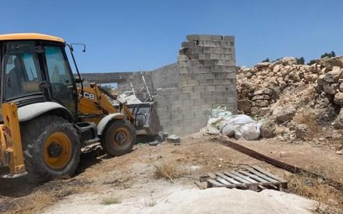 לא מוותרים על ההיסטוריה: המנהל האזרחי אכף מבנה בלתי חוקי בסמוך לאתר הארכיאולוגי סוסיא הקדומה