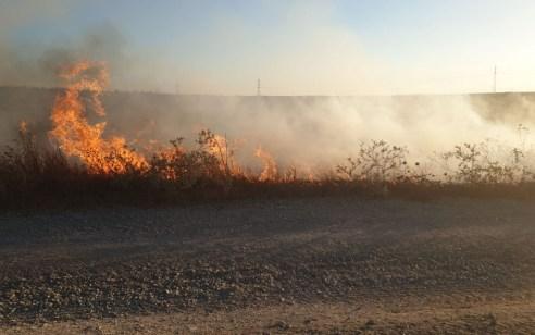 טרור הבלונים: 2 שריפות פרצו בעוטף עזה – חשד שנגרמו מבלונים