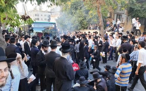 ירושלים: הפגנה של כמה עשרות מפגינים נהפכה לאלימה עם 4 פצועים – 11 חשודים נעצרו