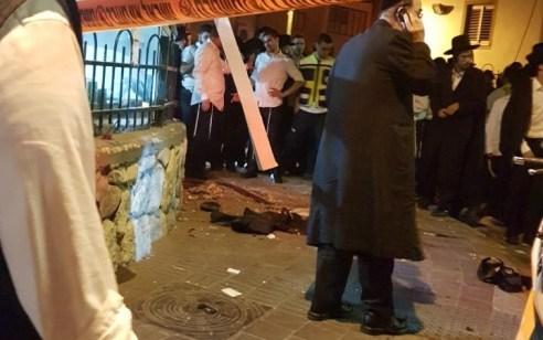 פצוע בינוני עד קשה ופצוע קל מפיצוץ ברחוב אהבת שלום בבני ברק