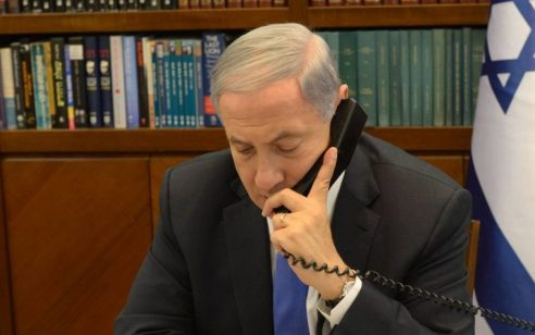 """נתניהו שוחח עם נשיא צרפת: """"זה לא הזמן הנכון לדון עם איראן"""""""