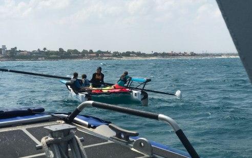 ארבעה צעירים נפצעו כתוצאה מהתנגשות אבוב וסירה באילת