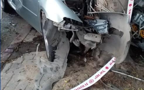 הרוג וארבעה פצועים בהתנגשות רכב בעץ בכביש 574 סמוך ליציאה מבאקה אל גרביה