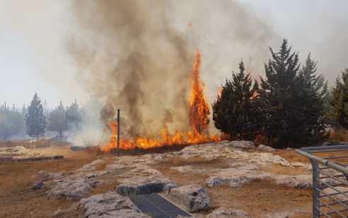טרור הבלונים: 3 שריפות פרצו בעוטף עזה – חוקר שריפות קבע שנגרמו מבלון