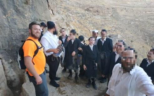 קבוצת מטיילים מאשדוד חולצה ממערת החריטון סמוך לתקוע