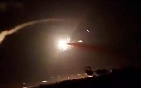 סוכל פיגוע רחפנים: חייל האוויר תקפו מטרות של איראן וחיזבאללה באזור דמשק