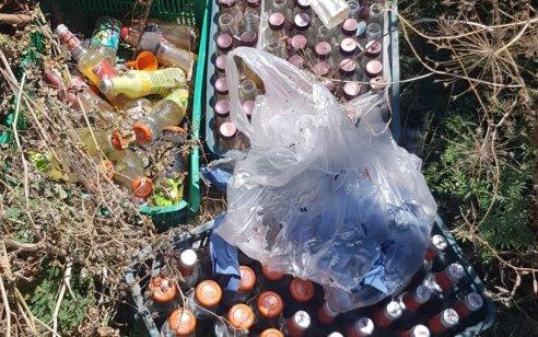 120 בקבוקי תבערה מוכנים להשלכה נתפסו בכפר מנדא – חשוד עוכב לחקירה