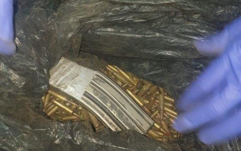 אתמול נתפסו אלפי כדורי תחמושת בקטרים שונים בשטח פתוח באום אל פאחם