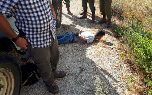 סוכל פיגוע: מחבל בן 14 עם סכין גדולה נעצר בין פסגות לכוכב יעקב