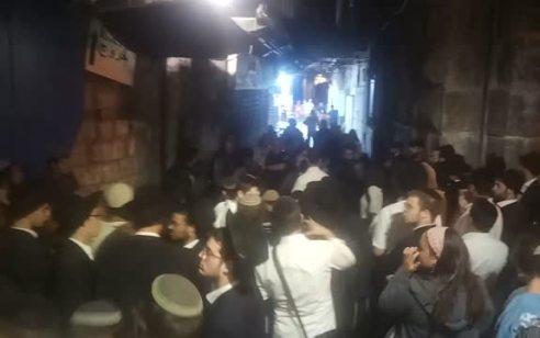 """המשטרה מונעת מיהודים לעבור ברחוב הגיא בעיר העתיקה. בן גביר: """"אפרטהייד נגד יהודים בבירתם בעיצומו של תשעה באב"""""""