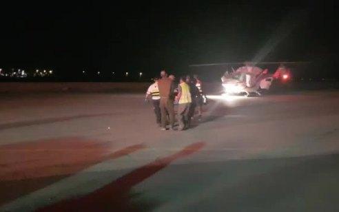 חמישה פצועים, בהם 4 בינוני שפונו במסוקים, בתאונה חזיתית בכביש 90 סמוך לצומת עין יהב