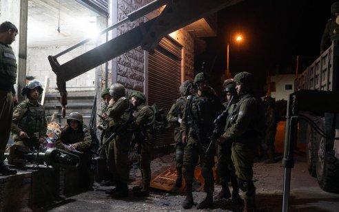 הלילה הוחרמה מחרטה לייצור כלי נשק בכפר ליקיא ונעצרו שמונה מבוקשים פעילי טרור – צפו