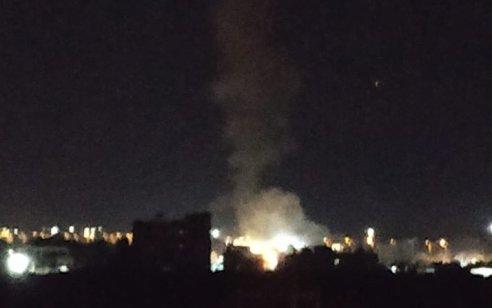 בתגובה לפיגוע הרחפן: חיל האוויר תקף ציוד לחימה ימי ושני מתחמים צבאיים של חמאס בעזה