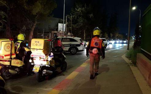 """לוחם מג""""ב נפצע בינוני ואזרח נוסף קל במהלך מעצר חשוד בגניבת רכב בסמוך לעטרות ליד ירושלים"""