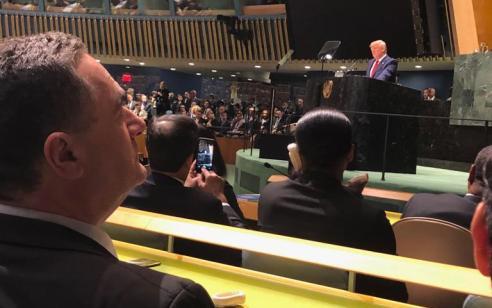 """טראמפ בעצרת או""""ם: """"אסור לנו להרשות לאיראן לפתח נשק גרעיני לעולם״"""