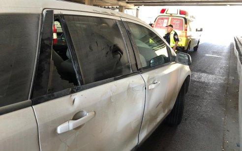 שני פצועים בינוני וקל בתאונה בין אופנוע לרכב בתל אביב