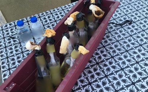 אישום: החזיק ברשותו 8 בקבוקי תבערה מוכנים לשימוש על גג בניין הדירות בו הוא מתגורר