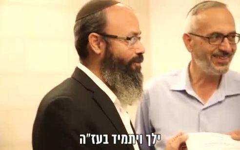 """שר הפנים מינה את הרב הלל הורוביץ ליו""""ר מנהלת היישוב היהודי בחברון: """"דרעי הוא ידיד אמת של ההתיישבות היהודית בחברון"""""""