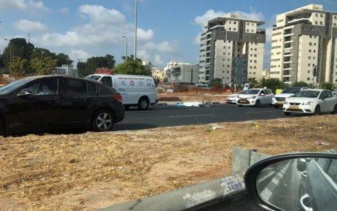 רוכב אופנוע כבן 35 נפגע מרכב בכביש 40 סמוך לרמלה – מצבו בינוני