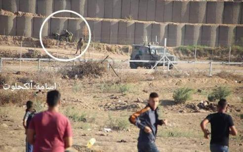 טרור שישי בגבול עזה: אלפי מחבלים מתפרעים ומשליכים מטענים ורימונים לעבר כוחותינו – מספר מחבלים נפצעו