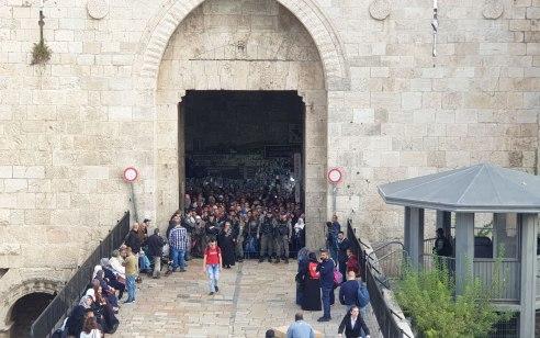 בתום מרדף: נתפס מחבל שניסה לדקור לוחמים בסמוך לשער הפרחים בירושלים