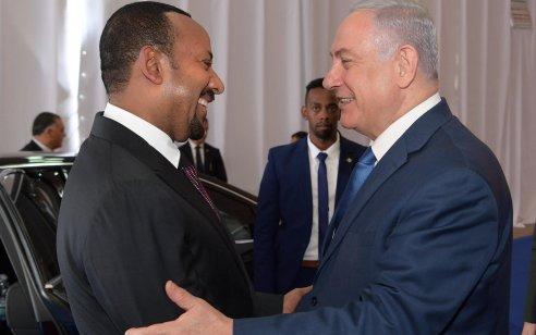 ראש הממשלה נתניהו שוחח עם ראש ממשלת אתיופיה ובירך אותו על זכייתו בפרס נובל לשלום