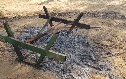 """ונדליזם ביער: נזק של עשרות אלפי שקלים ביערות קק""""ל בדרום במהלך חוה""""מ סוכות"""