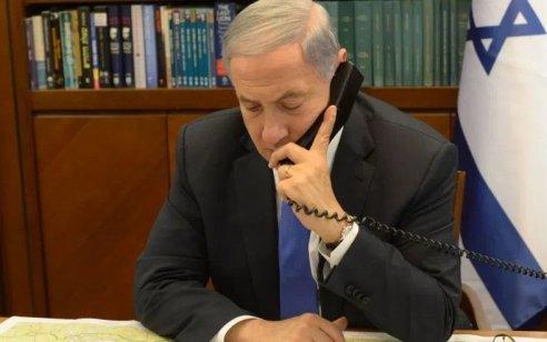"""נתניהו שוחח בטלפון עם ראשי רשויות עוטף עזה: """"ראשי ארגוני הטרור יודעים שהם על הכוונת"""""""