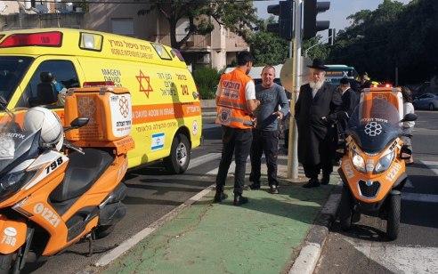 ילדה בת 4 נפגעה מרכב בחיפה – מצבה בינוני