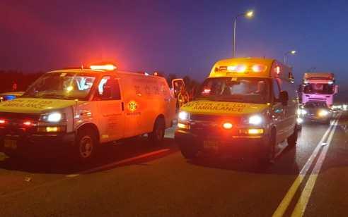 הרוג ופצוע קל בתאונה בין ריינג'ר לרכב בכביש 9 סמוך לבאקה אל ג'רביה