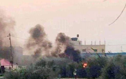 """דיווח ערבי על פיצוץ במערב עזה – ככה""""נ שיגור כושל"""